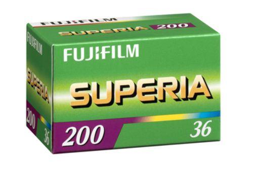 Kinofilm Fujifilm Superia 200 135/36