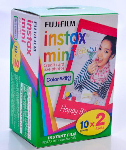 Instantní film Fujifilm Color film Instax mini glossy 20 fotografií