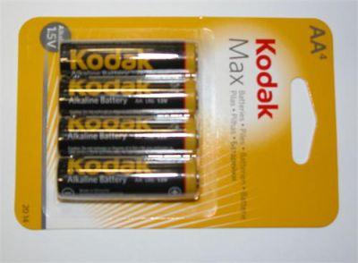 Baterie Kodak KAA-4 Alkaline Max balení 4 ks, tužkové