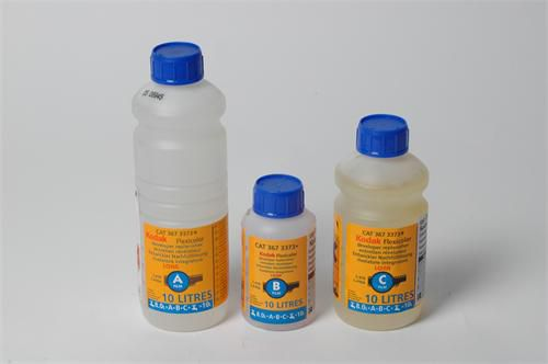 Chemie pro minilaby Kodak FlexiColor C-41 vývojka RA/BNP 4x10L