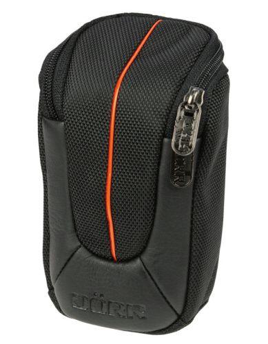 Pouzdro Doerr  YUMA M (6x3x10,5 cm, černá/oranžová)