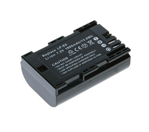 Baterie Avacom Canon LP-E6 Li-ion 7.2V 1620mAh 11.7Wh verze 2013 - neoriginální