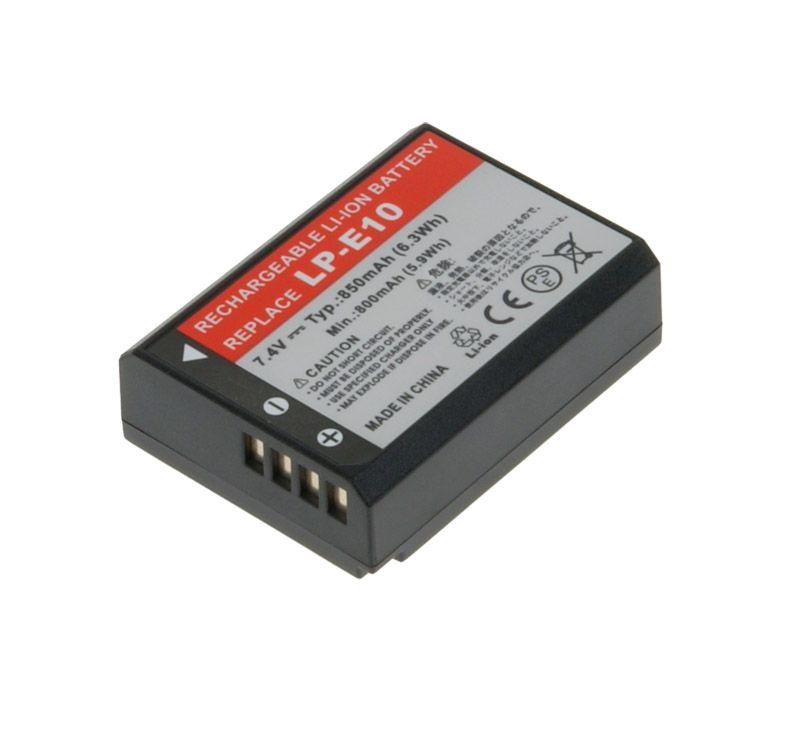 Baterie Avacom Canon LP-E10 Li-ion 7.4V 850mAh 6.3Wh - neoriginální