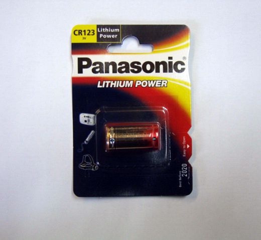 Baterie Avacom Panasonic CR-123A nenabíjecí