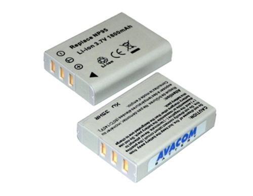 Baterie Avacom Fujifilm NP-95 Li-ion 3.7V 1800mAh 6.7Wh verze 2010 - neoriginální