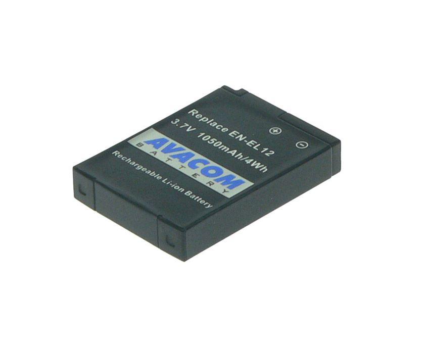 Baterie Avacom Nikon EN-EL12 Li-ion 3.7V 1050mAh 3.9Wh verze 2011 - neoriginální