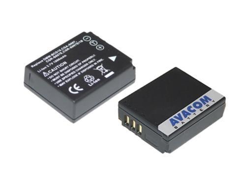 Baterie Avacom Panasonicc CGA-S007, DMW-BCD10 Li-ion 3.7V 1000mAh 3.7Wh - neoriginální