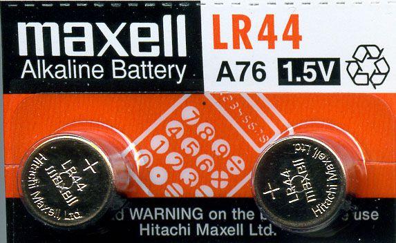 Baterie Avacom knoflíková Maxell A76 (LR44, AG13, PX76A) Alkaline - nenabíjecí