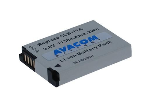 Baterie Avacom Samsung SLB-11A Li-ion 3.8V 1130mAh 4.2Wh - neoriginální