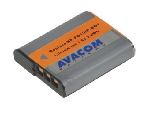 Baterie Avacom Sony NP-BG1N/FG1 Li-ion 3.6V 950mAh 3.4Wh (oranžový index - verze 2011) - n