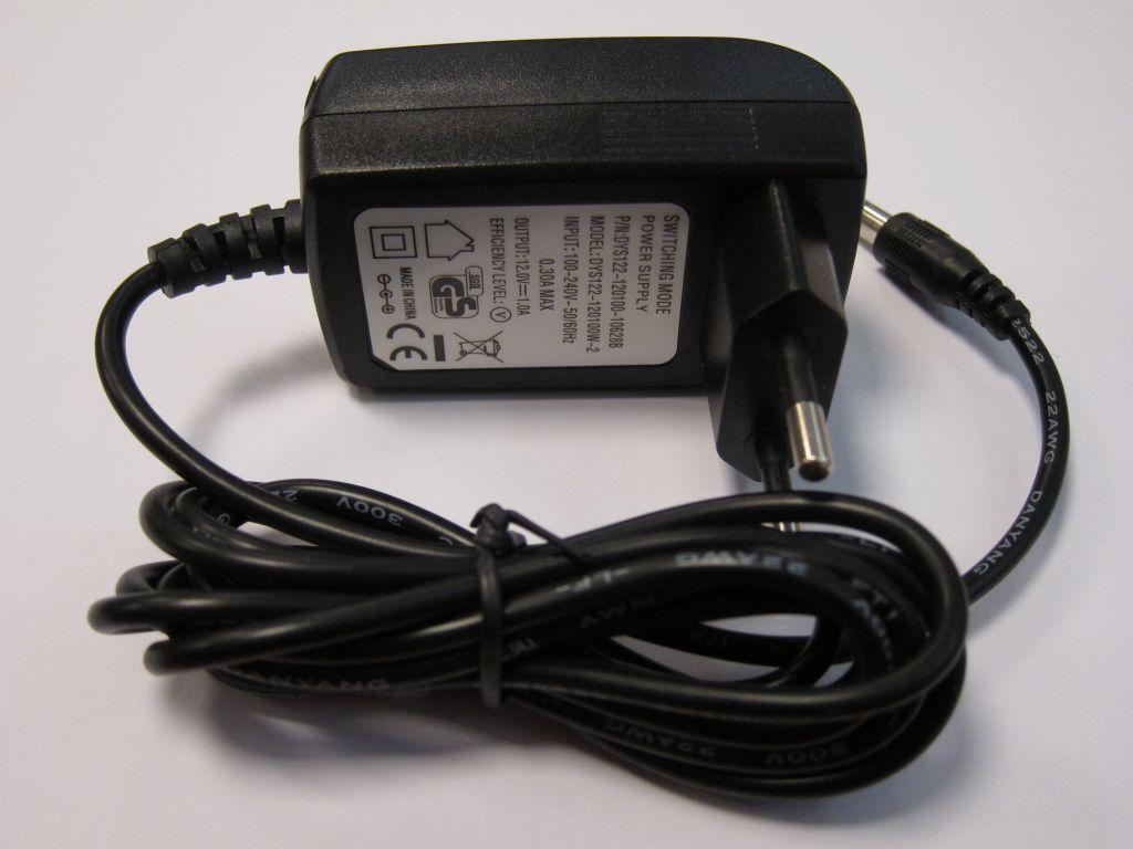 Napájecí adaptér Avacom AC/DC pro soupravy AV-MP a AVH 100-240V/ 12V, 1A
