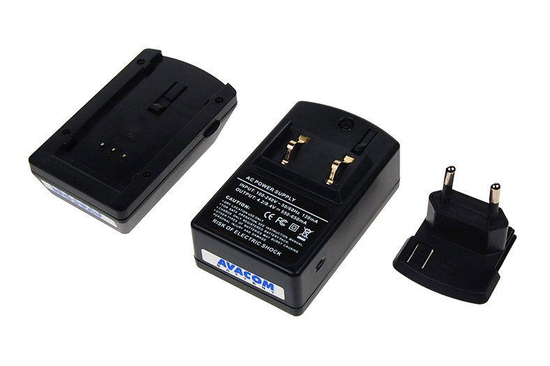 Nabíječka Avacom ACM136 pro Li-ion akumulátor Nikon EN-EL3,EN-EL3E, Fujifilm NP-150 - neor