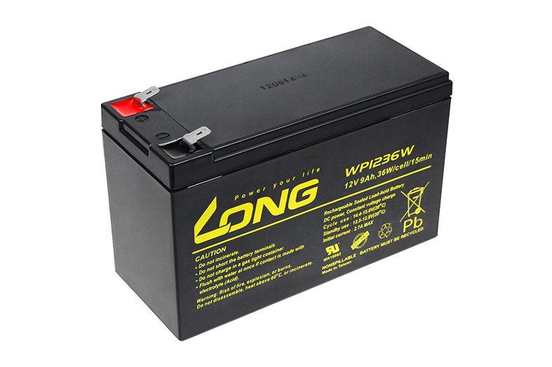 Baterie Avacom Long 12V 9Ah olověný akumulátor HighRate F2 - neoriginální