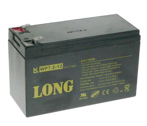 Baterie Avacom Long 12V 7,2Ah olověný akumulátor F2 - neoriginální