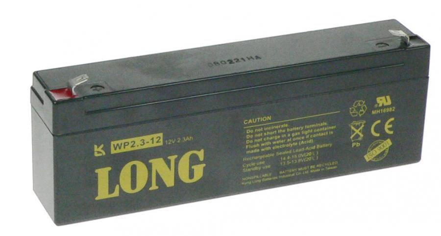 Baterie Avacom Long 12V 2,3Ah olověný akumulátor F1 - neoriginální