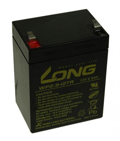 Baterie Avacom Long 12V 2,9Ah olověný akumulátor F1 - neoriginální