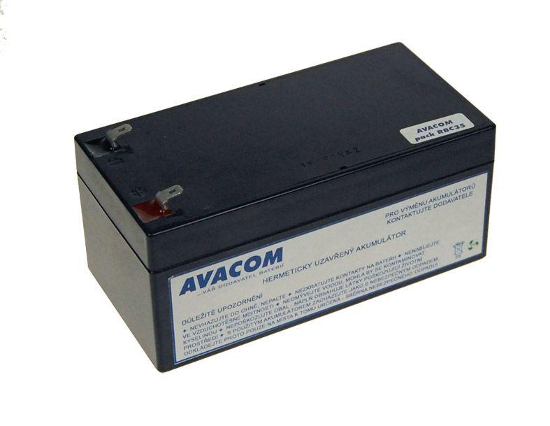 Baterie Avacom RBC35 bateriový kit - náhrada za APC - neoriginální
