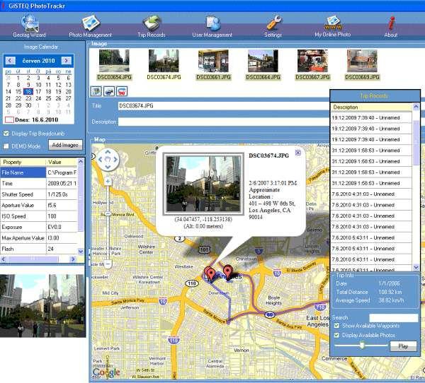 GPS Canmore GT-740FL Sport LogBook tracker (datalogger), (SIRF-IV), vodotěsný