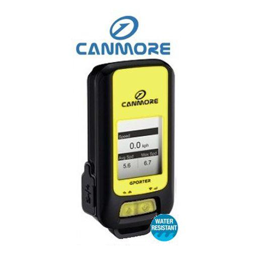 GPS Canmore GP-102+ tracker (datalogger), IPX6, LCD, tlak/teplota/, gyro - žlutý