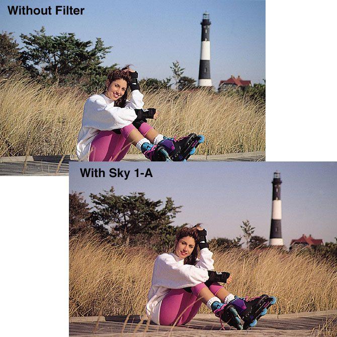 Filtr Tiffen 58mm SLIM Sky1-A