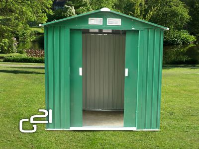 Zahradní domek G21 GAH 327 - 191 x 171 cm, zelený