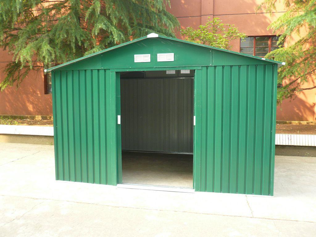 Zahradní domek G21 GAH 1092 - 311 x 351 cm, zelený