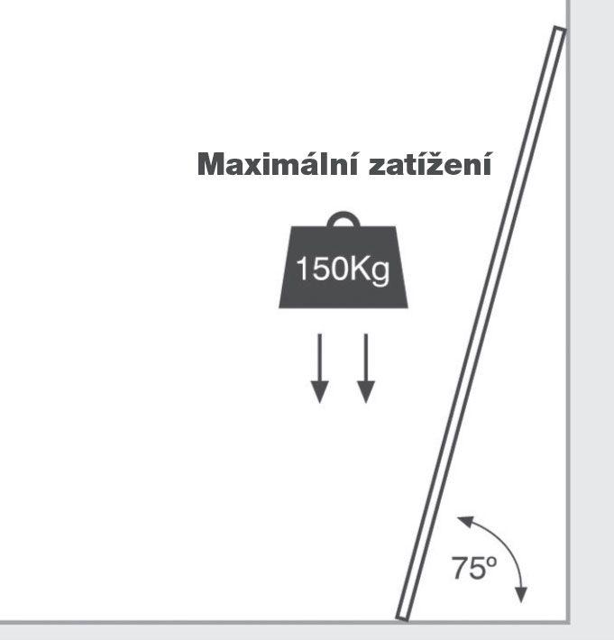 Teleskopický žebřík G21 GA-TZ12-3,8M štafle/žebřík