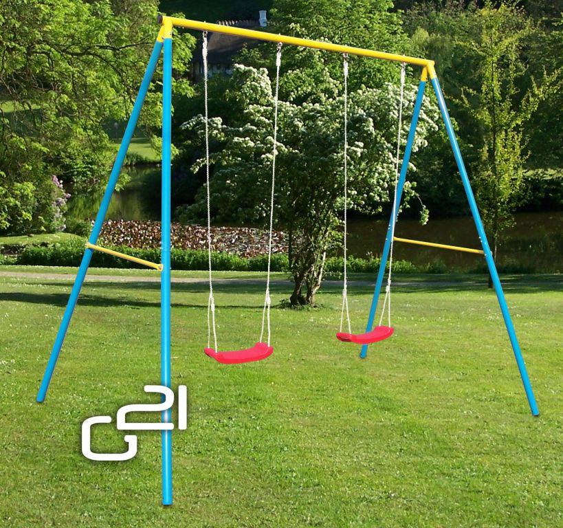 Zahradní houpačka G21 pro 2 děti
