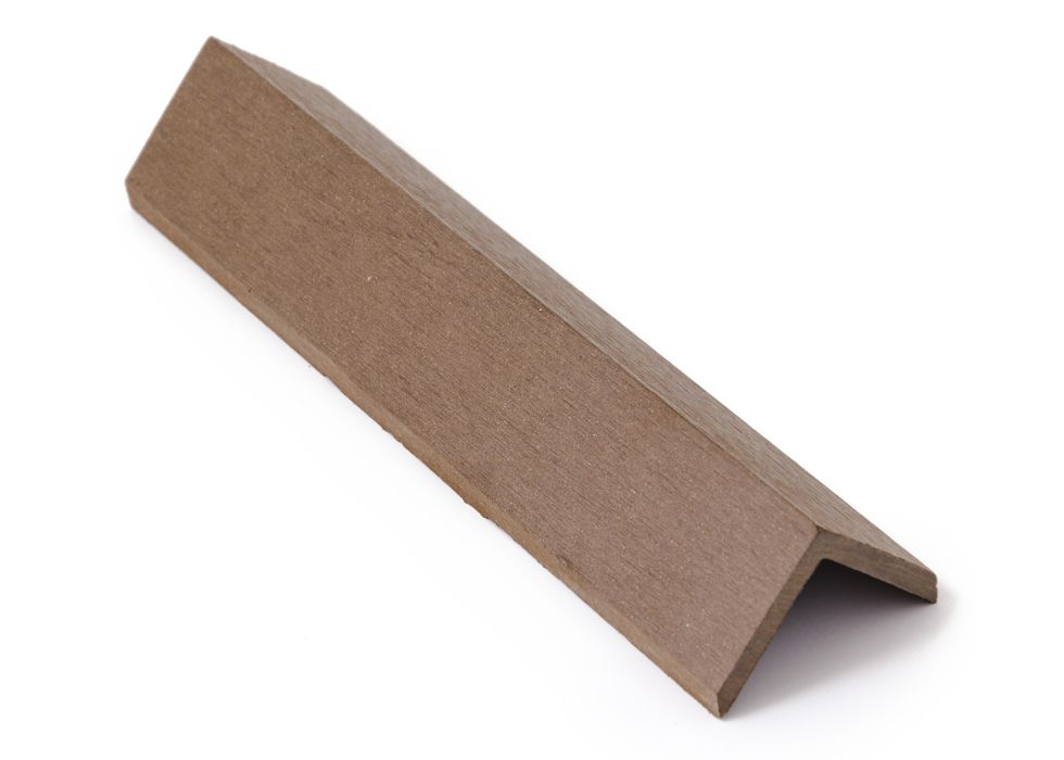 Zakončovácí hrana G21 4,5*4,5*300cm Indický teak mat. WPC