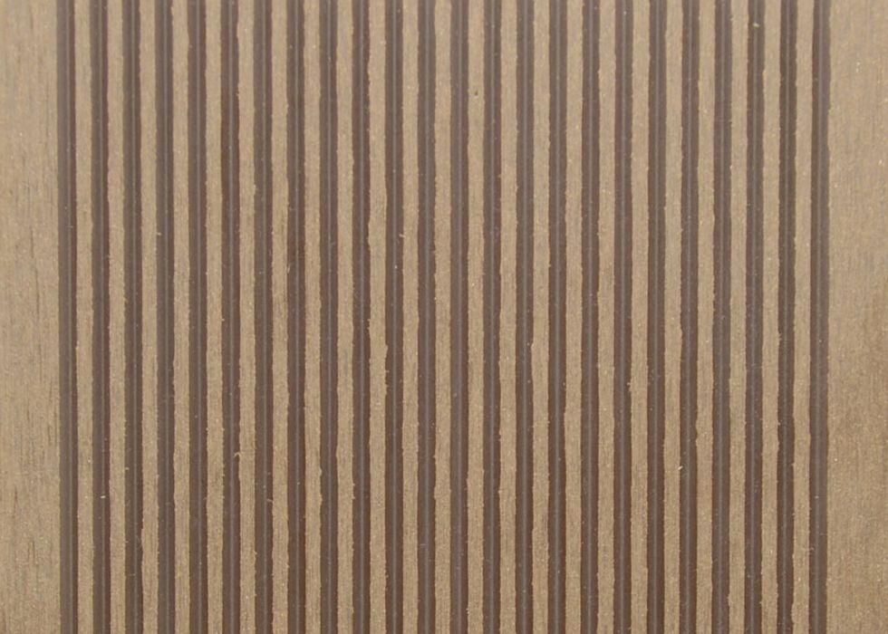 Terasové prkno G21 2,5*14*400cm, Ořech mat. WPC