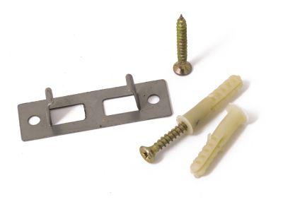 Příchytka G21 nosníku 4x3 terasových prken k podkladu, ocelová