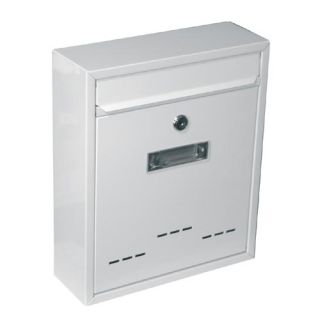 Schránka poštovní RADIM malá 310x260x90mm bílá