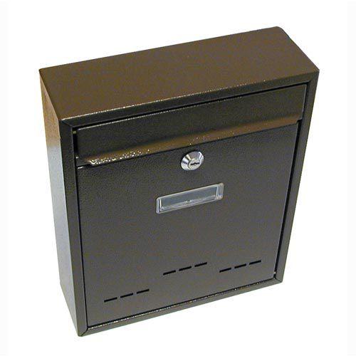 Schránka poštovní RADIM malá 310x260x90mm hnědá