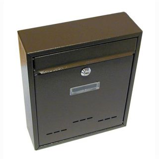 Schránka poštovní G21 RADIM malá 310x260x90mm hnědá