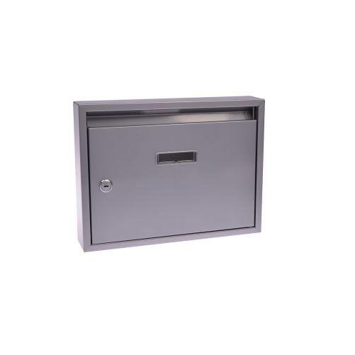 Schránka poštovní paneláková - šedá