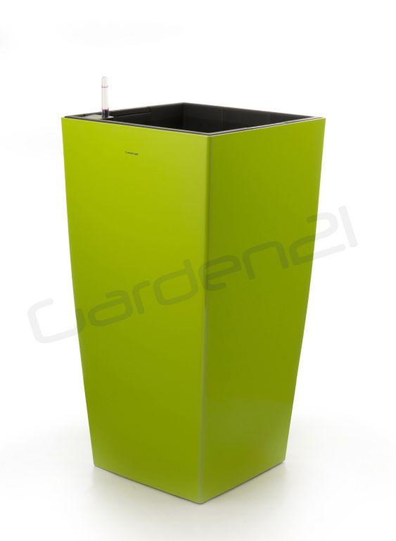Samozavlažovací květináč G21 Linea zelený 39cm