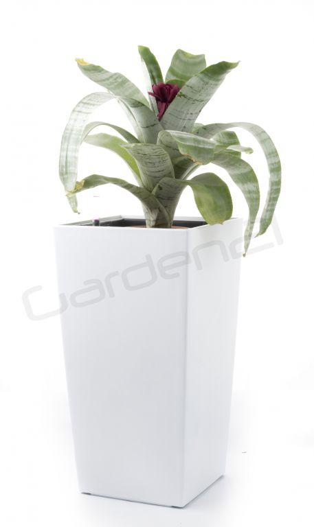 Samozavlažovací květináč G21 Linea small bílý 28cm