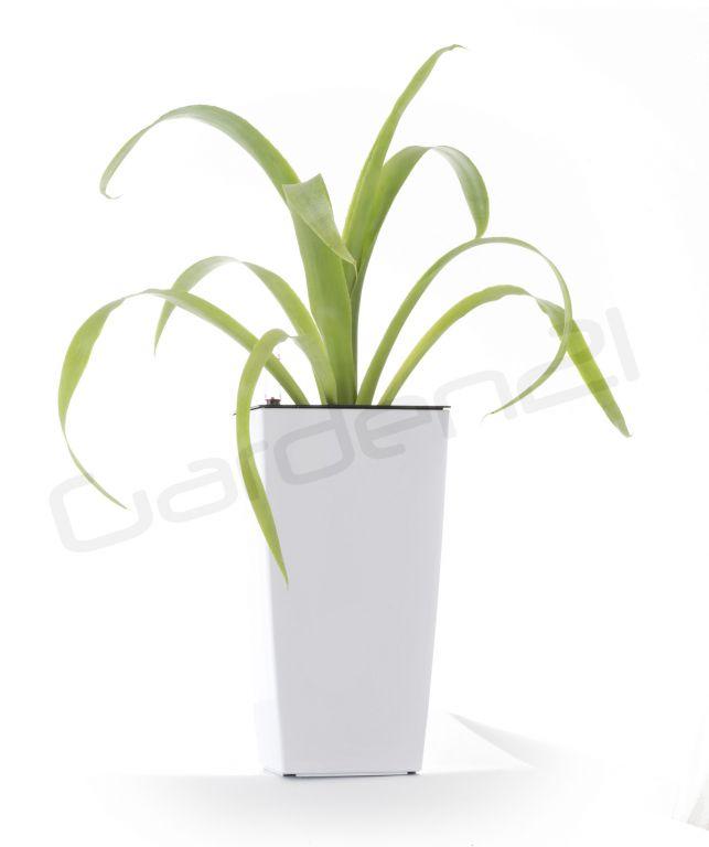 Samozavlažovací květináč G21 Linea mini bílý 26cm