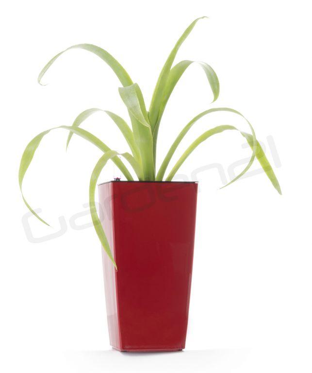 Samozavlažovací květináč G21 Linea mini červený 26cm