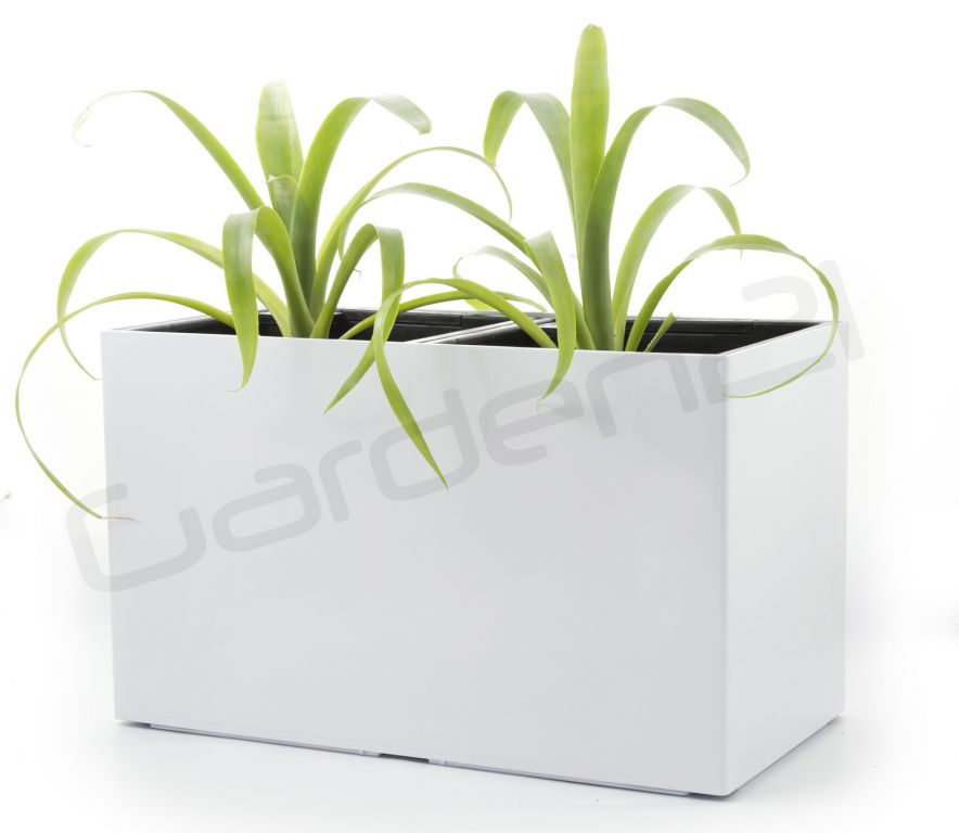 Samozavlažovací květináč G21 Combi bílý 56 x 28cm