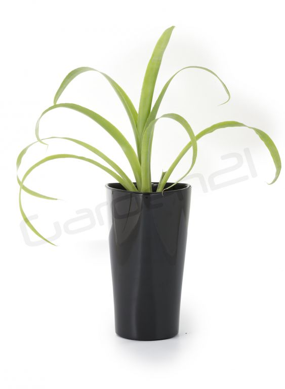 Samozavlažovací květináč G21 Trio mini černý 26cm