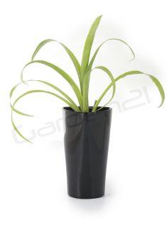 Samozavlažovací květináč G21 Trio mini černý 15cm