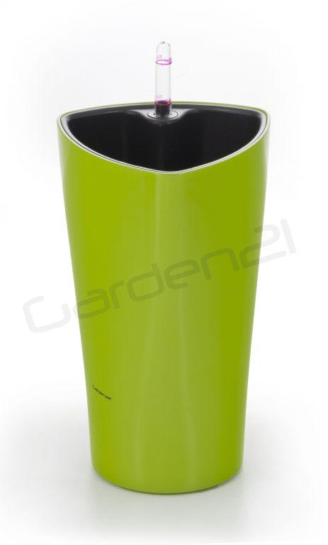 Samozavlažovací květináč G21 Trio mini zelený 26cm