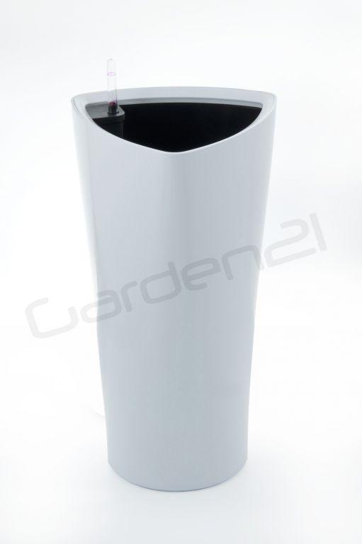 Samozavlažovací květináč G21 Trio bílý 29.5cm