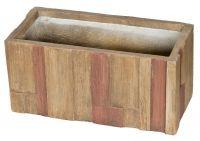 Květináč G21 Wood Box - 28 cm