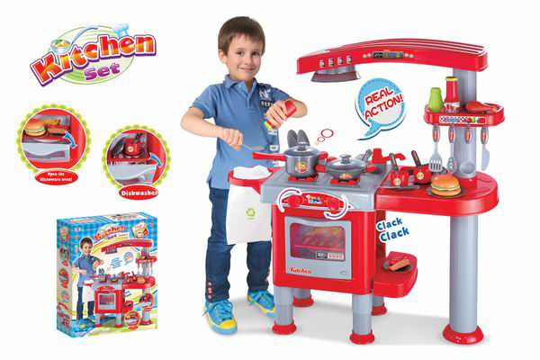 Dětská kuchyňka G21 velká s příslušenstvím + RYCHLÉ DODÁNÍ