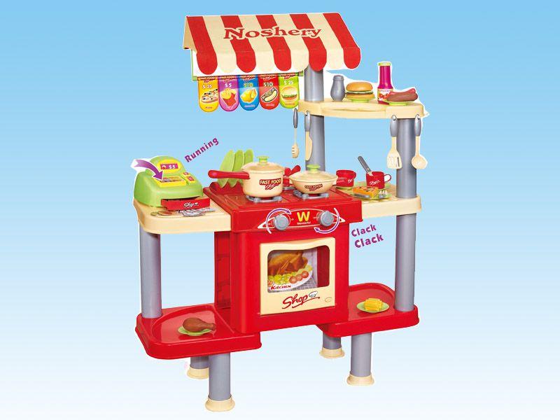 G21 Hrací set Dětský obchod s rychlým občerstvením