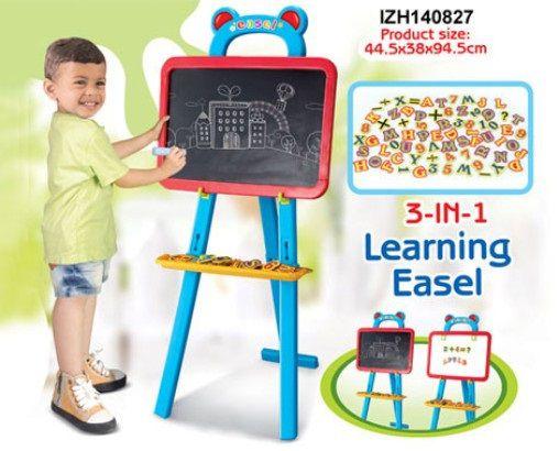 Dětská tabule G21 magnetická 3in1