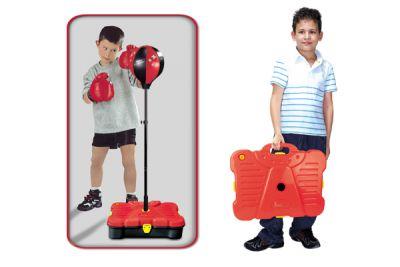 Boxovací balón G21 s příslušenstvím v kufru 90/130cm