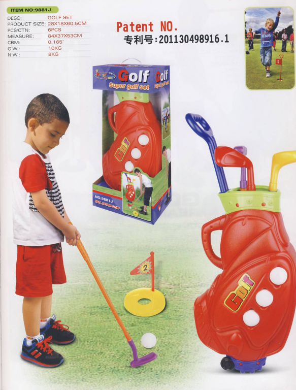 G21 24530 Hrací set Golf Super
